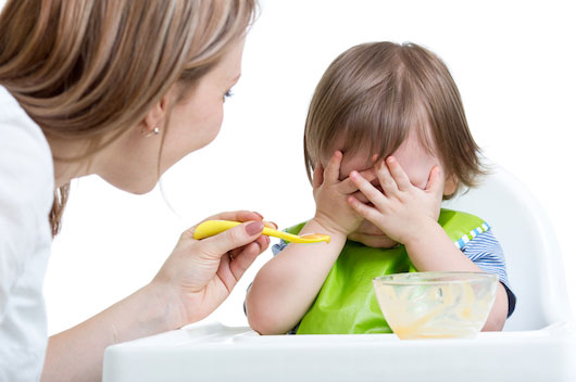baby refusing solids